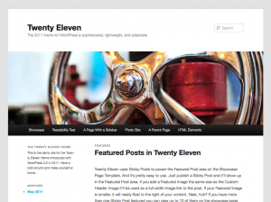 TwentyEleven_screenshot